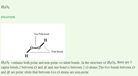 Which Of The Following Contains Electrovalent And Polar Covalent Bonds A Ch4 B H 02 C Nh Ci D Hcn