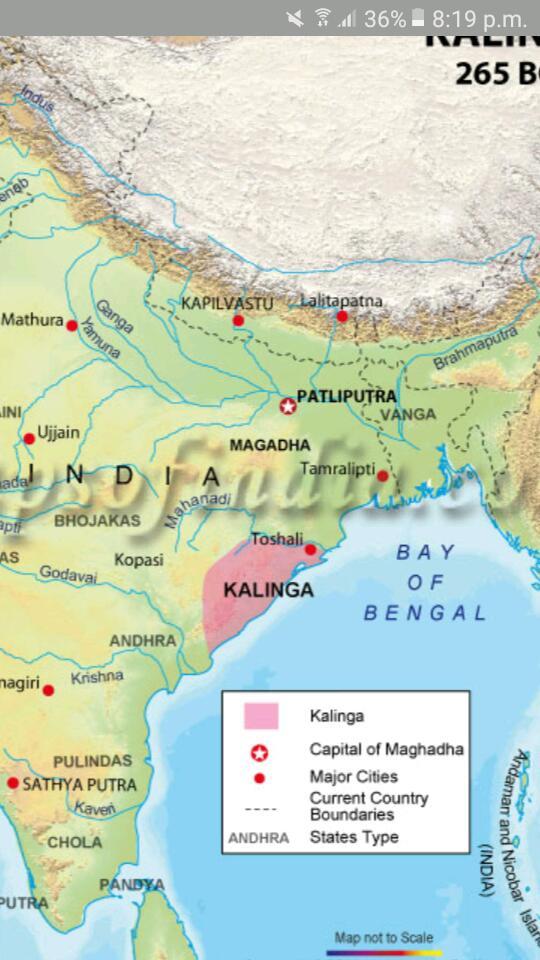 W In The Given Outline Map Of India Mark Important Janapadas Maghadha Kosala Avanti Gandhara Kuru Panchala Vajji And Anga